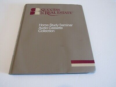 Vtg Real Estate Selling Course Home Study 8 Audio Cassettes Canadian Market