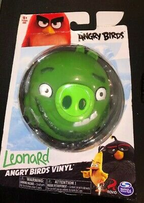 "New Angry Birds /""Leonard/"" Collectible Action Figure King Pig Spin Master"