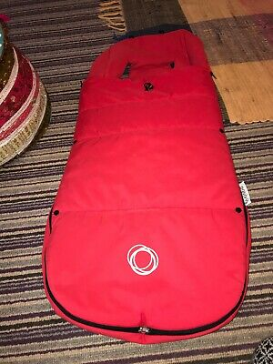 Bugaboo Footmuff Red Very Good Condition