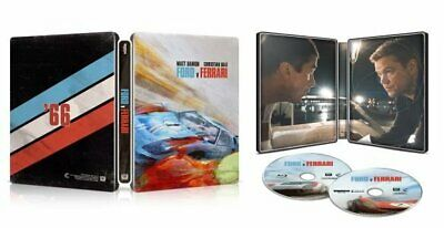 FORD VS FERRARI Best Buy Exclusive Steelbook (4K Blu-Ray Digital)