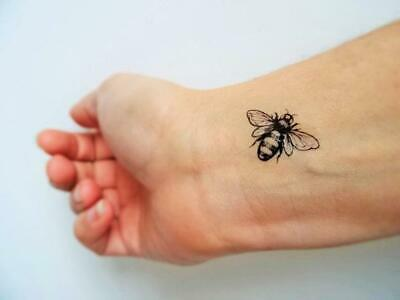 SHIP FROM NY- Set of 4 Bees temporary tattoos**