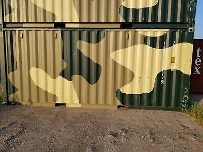 Shipping Container Camouflage Color