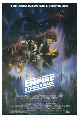 Star Wars The Empire Strikes Back Movie Poster 24 x 36 Style A New