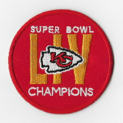 Kansas City Chiefs (k) Iron on Patch Embroidered Super Bowl LIV 54 Champion 2020