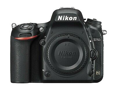 Nikon D750 24.3 MP Digital SLR Camera + Battery Grip + 6 Extra Batteries