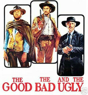 EASTWOOD 160706 CLASSIC MOVIE POSTER 24x36 THE GOOD THE BAD AND THE UGLY
