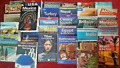 Lonely Planet Bundle Collection of 31 paperback Travel Guides from Lonely Planet