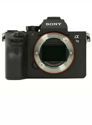 Sony Alpha A7 III Mirrorless Digital Camera - Body Only (ILCE7M3B.CEC)