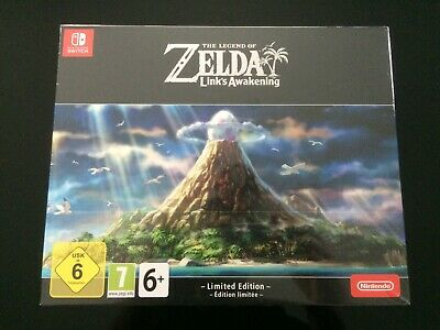 Legend of Zelda Link's Awakening Edition Limitée Nintendo Switch Collector NEUF