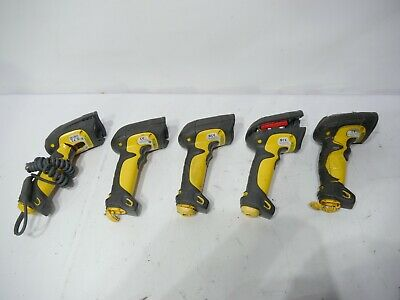 Symbol LXE Barcode Scanners LS3408-ER20105R Lot of 5 Long Range PARTS