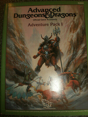 Advanced Dungeons  Dragons       Adventure Pack  I        1987