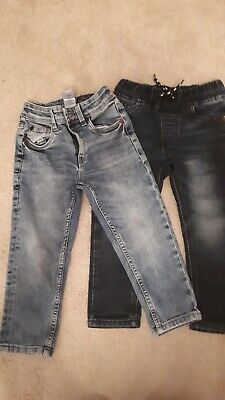 Boys Age 3 Next Jeans Two Pairs