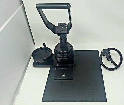 "QLT Imaging Model BP-350, 3-1/2"" Commercial Button Maker Press Great condition"