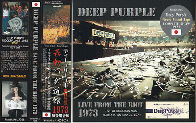 DEEP PURPLE / LIVE FROM THE RIOT - Budokan Hall, Tokyo 1973 / 2CD / Sealed!
