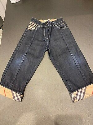 BURBERRY BOYS JEANS AGE 2. Superb Condition