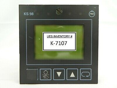 PMA 9408 969 24001 Advanced Multi-loop Temperature Controller KS 98 Working