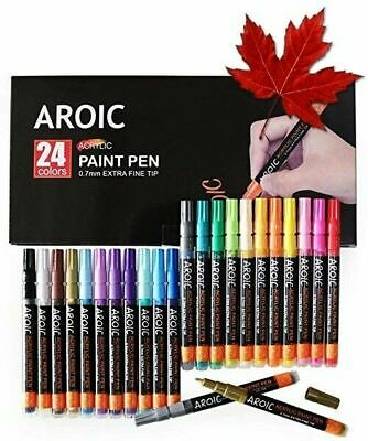 Acrylic Paint Pens for Rock Painting - Write On Anything! Paint pens for Rock...