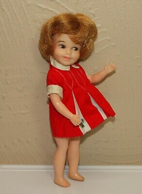 Vintage Deluxe Reading PENNY BRITE Doll w/ Original Dress * Side Glancing Eyes
