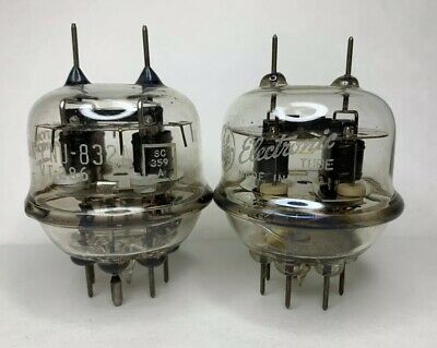 (2) NEW 832A Vacuum Tubes Free Shipping