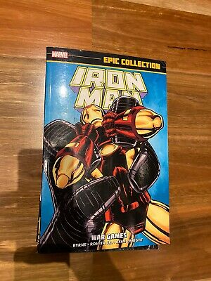Iron Man - Vol 16 War Games - Marvel Epic Collection TPB (Out Of Print)