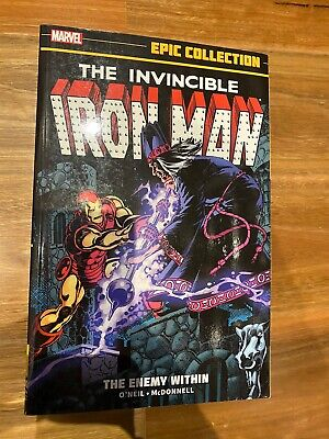 Iron Man - Vol 10 The Enemy Within- Marvel Epic Collection TPB (Out Of Print)