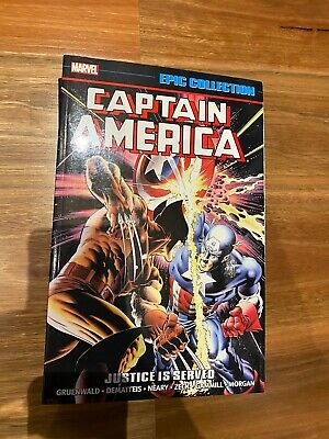 Captain America - Vol 13 Justice Is Served - Marvel Epic Collection TPB (OOP)