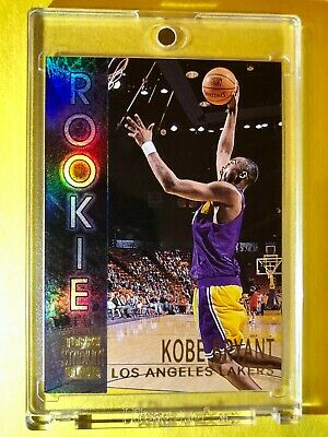 Kobe Bryant REFRACTOR ROOKIE CARD MINT RC 96-97 TOPPS STADIUM CLUB Insert #R9