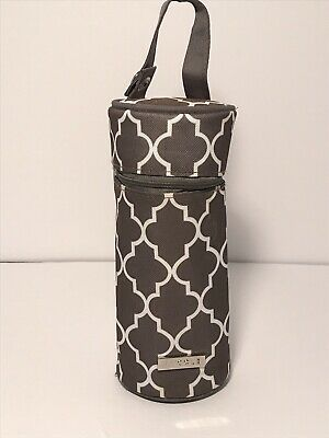 JJ Cole Baby Bottle Pod  Aspen Arbor Hot/Cold Carrier EXCELLENT!