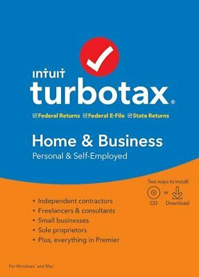 2019 Turbo Tax Homes and Business