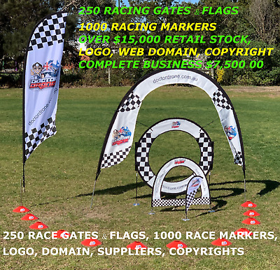 Work From Home Business With $15,000 Of New Stock Fpv Drone Racing Gates Flags
