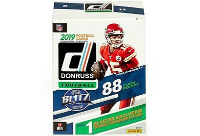 2019 Donruss Football Factory Sealed 11 Pack Blaster Box - NEW! HOT!