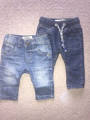 Two Pairs Boys 3-6 Next Jeans