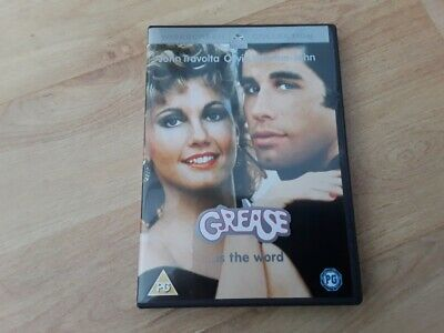 Grease DVD (2002) John Travolta, Olivia Newton - John in VGC, includes songbook