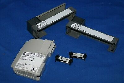 Allen-Bradley Lot party GROUP INCLUDING 2x 1746-N2 , 2x 1747-M1 , 1769-ECR