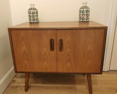 Vintage Retro G-Plan Mid Century Danish Teak Splayed Leg Sideboard Cabinet