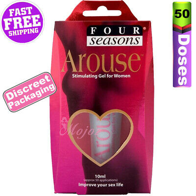 Four Seasons Arouse Stimulating Orgasm Gel for Women Her Lube Clitoral Sex Drive
