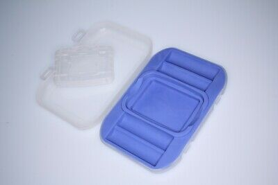 AA Battery and memory card holder plastic safe box