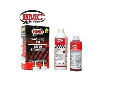 KIT PULIZIA RIGENERA FILTRO ARIA BMC K&N KN 500ml DETERGENTE WASHING KIT