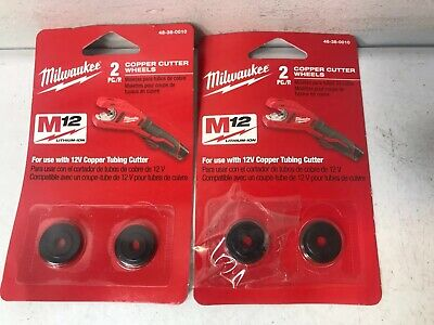 Milwaukee 48-38-0010 Copper Tubing Replacement Cutter Wheel (2-Pack) (N)