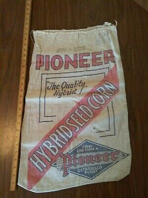Pioneer antique feed bag sack