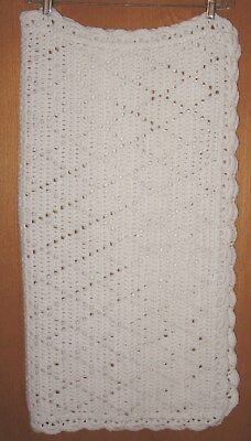 Hand Crocheted Baby Blanket-Brand New! Gorgeous!
