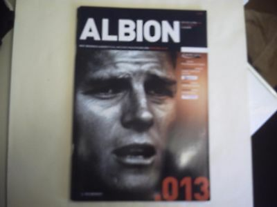 West Bromwich Albion v Man Utd 03.12.2003 Carling Cup 4th RD Programme. LOOK.