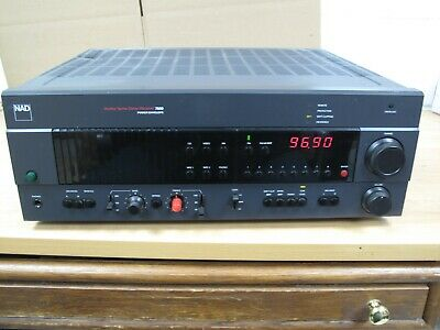 NAD 7600 Am/Fm Stereo Receiver Power Envelope Ex Sound Powerful Musical NICE