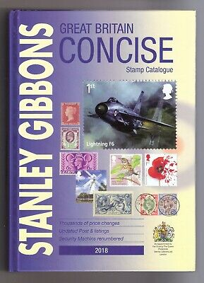 Stanley Gibbons 2018 Great Britain Concise Stamp Catalogue