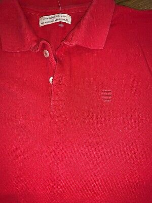 Boys Red Polo T Shirt From Zara Age 13-14 Years Short Sleeved