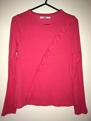 M&S Kids Girls Long Sleeved T-Shirt Age 10-11 Years (small fitting)