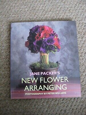Jane Packer's New Flower Arranging - Signed Book