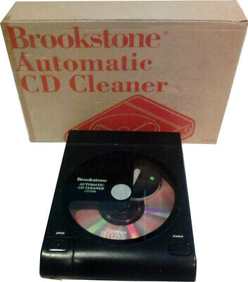 Brookstone - AUTOMATIC CD CLEANER -
