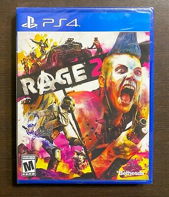 Brand New Rage 2 Sealed PS4 Video Game Playstation 4 0093155174078
