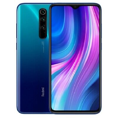 Xiaomi Redmi Note 8 Pro 6GB Ram 128GB Rom Dual Sim - Ocean Blue (EU Version)